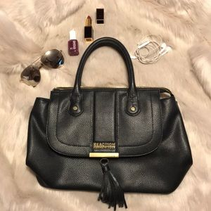 Real Leather Kenneth Cole Reaction Satchel